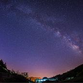 Milky Way in the Night Sky