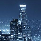 Night View of City Wallpaper