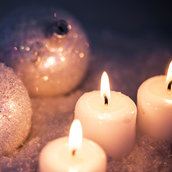 Candles wallpaper