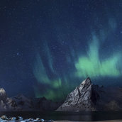 Lofoten island wallpaper