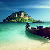 Poda island in Thailand wallpaper