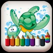 coloring -sea