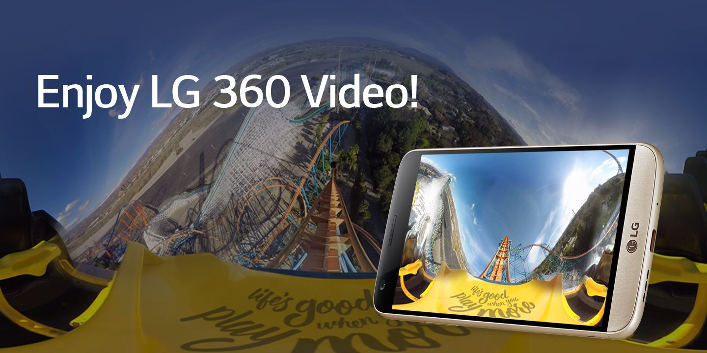 [Enjoy LG 360 Video!]