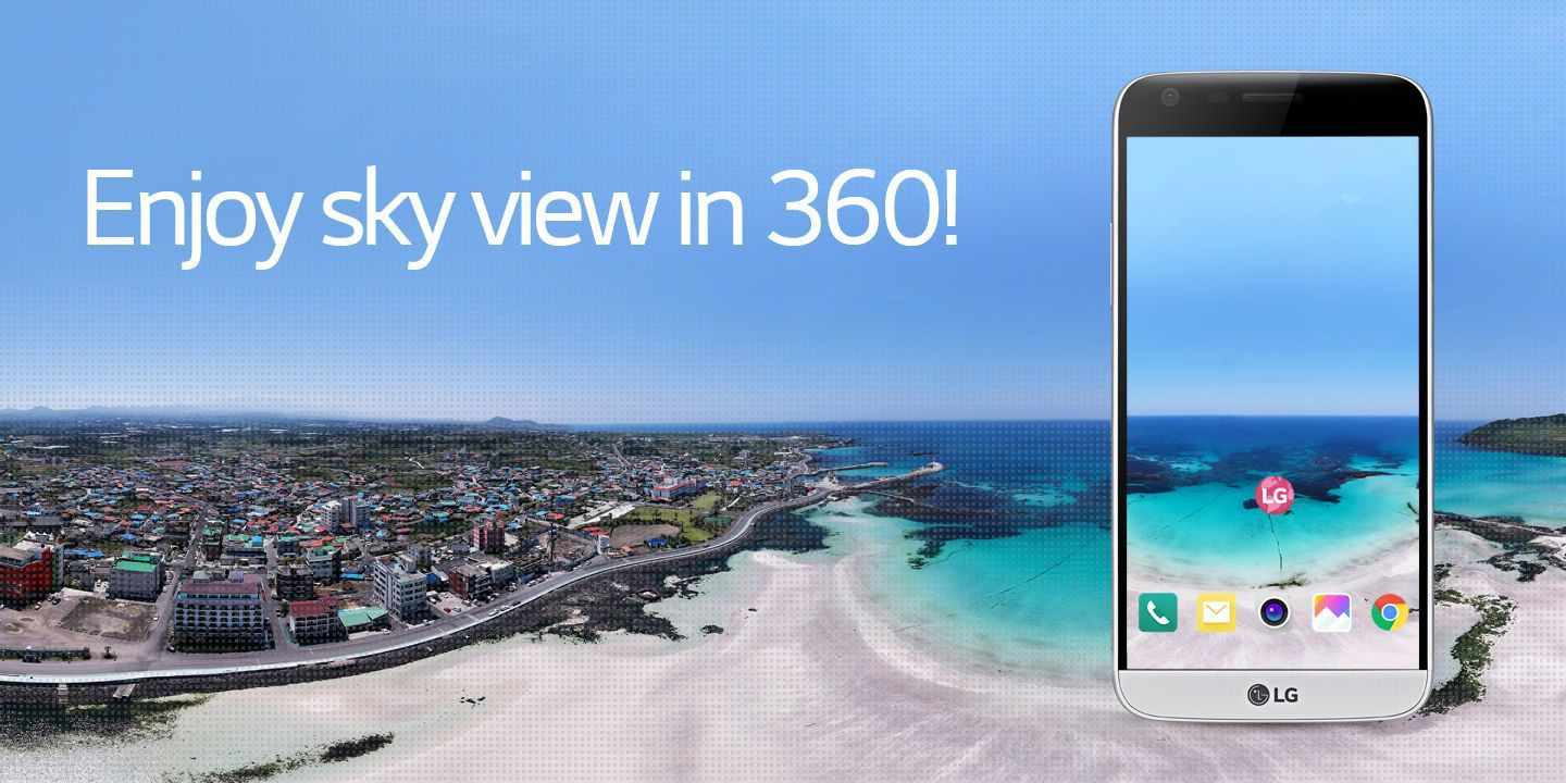 [Enjoy sky view in 360!]